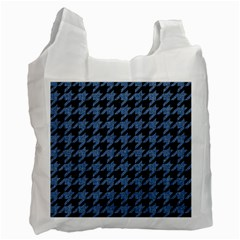 HTH2 BK-MRBL BL-DENM Recycle Bag (Two Side)