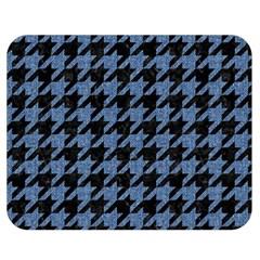 HTH2 BK-MRBL BL-DENM Double Sided Flano Blanket (Medium)