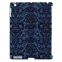 DMS2 BK-MRBL BL-DENM (R) Apple iPad 3/4 Hardshell Case (Compatible with Smart Cover)