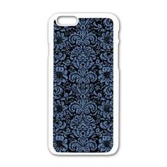 DMS2 BK-MRBL BL-DENM Apple iPhone 6/6S White Enamel Case