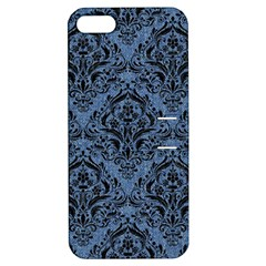 DMS1 BK-MRBL BL-DENM (R) Apple iPhone 5 Hardshell Case with Stand