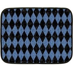 DIA1 BK-MRBL BL-DENM Fleece Blanket (Mini)