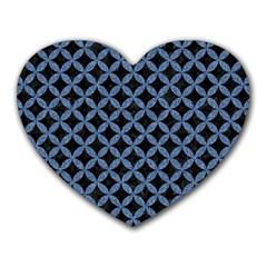 CIR3 BK-MRBL BL-DENM Heart Mousepads