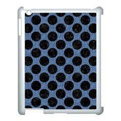 CIR2 BK-MRBL BL-DENM (R) Apple iPad 3/4 Case (White)