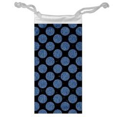 CIR2 BK-MRBL BL-DENM Jewelry Bag