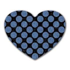 CIR2 BK-MRBL BL-DENM Heart Mousepads