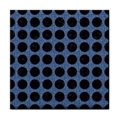 CIR1 BK-MRBL BL-DENM (R) Face Towel