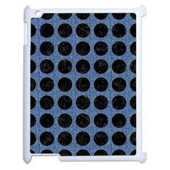 CIR1 BK-MRBL BL-DENM (R) Apple iPad 2 Case (White)