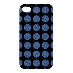 CIR1 BK-MRBL BL-DENM Apple iPhone 4/4S Premium Hardshell Case