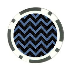 CHV9 BK-MRBL BL-DENM Poker Chip Card Guard (10 pack)