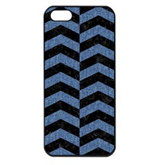 CHV2 BK-MRBL BL-DENM Apple iPhone 5 Seamless Case (Black)