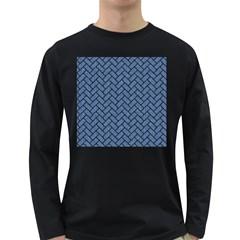BRK2 BK-MRBL BL-DENM (R) Long Sleeve Dark T-Shirts