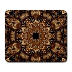 3d Fractal Art Large Mousepads
