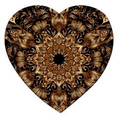 3d Fractal Art Jigsaw Puzzle (heart)