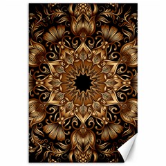 3d Fractal Art Canvas 12  X 18