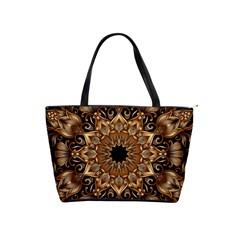 3d Fractal Art Shoulder Handbags