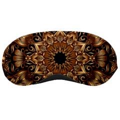 3d Fractal Art Sleeping Masks