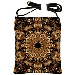 3d Fractal Art Shoulder Sling Bags