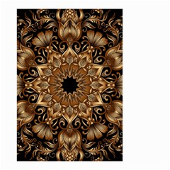 3d Fractal Art Small Garden Flag (Two Sides)