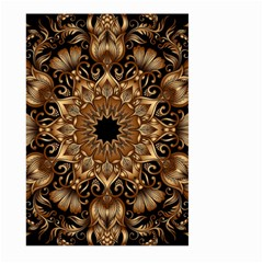 3d Fractal Art Large Garden Flag (Two Sides)