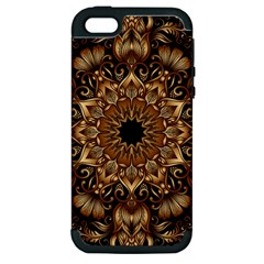 3d Fractal Art Apple iPhone 5 Hardshell Case (PC+Silicone)