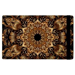 3d Fractal Art Apple iPad 3/4 Flip Case