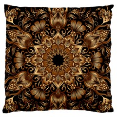 3d Fractal Art Large Flano Cushion Case (Two Sides)