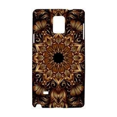 3d Fractal Art Samsung Galaxy Note 4 Hardshell Case