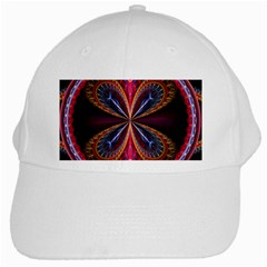 3d Abstract Ring White Cap