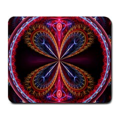 3d Abstract Ring Large Mousepads