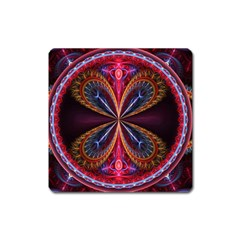 3d Abstract Ring Square Magnet