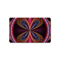 3d Abstract Ring Magnet (name Card)