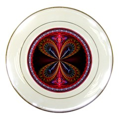 3d Abstract Ring Porcelain Plates