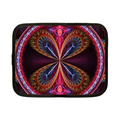 3d Abstract Ring Netbook Case (Small)
