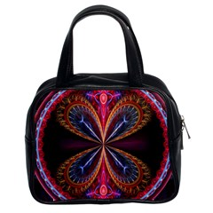 3d Abstract Ring Classic Handbags (2 Sides)