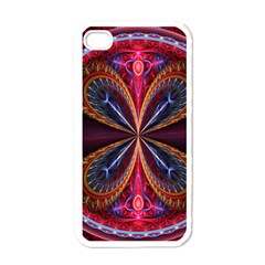 3d Abstract Ring Apple Iphone 4 Case (white)