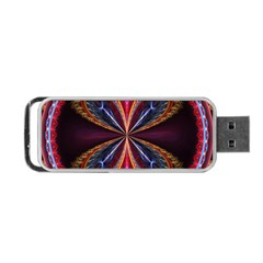 3d Abstract Ring Portable USB Flash (Two Sides)