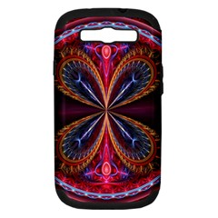 3d Abstract Ring Samsung Galaxy S III Hardshell Case (PC+Silicone)