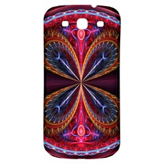 3d Abstract Ring Samsung Galaxy S3 S III Classic Hardshell Back Case