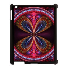 3d Abstract Ring Apple iPad 3/4 Case (Black)