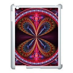 3d Abstract Ring Apple Ipad 3/4 Case (white)