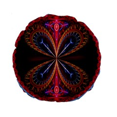 3d Abstract Ring Standard 15  Premium Round Cushions