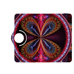 3d Abstract Ring Kindle Fire Hdx 8 9  Flip 360 Case