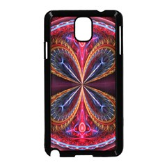 3d Abstract Ring Samsung Galaxy Note 3 Neo Hardshell Case (Black)