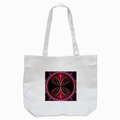 3d Abstract Ring Tote Bag (white)