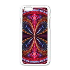 3d Abstract Ring Apple iPhone 6/6S White Enamel Case