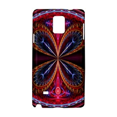 3d Abstract Ring Samsung Galaxy Note 4 Hardshell Case