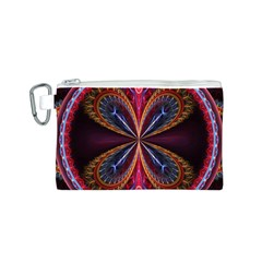 3d Abstract Ring Canvas Cosmetic Bag (s)