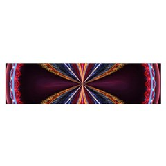 3d Abstract Ring Satin Scarf (Oblong)