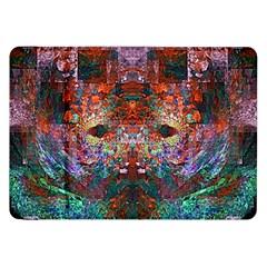 Modern Abstract Geometric Art Rainbow Colors Samsung Galaxy Tab 8.9  P7300 Flip Case